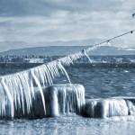 Nyon sous la glace